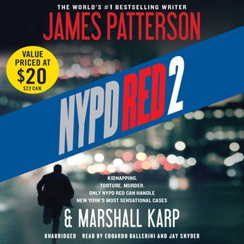 NYPD Red 2 audiobook by James Patterson,Marshall Karp
