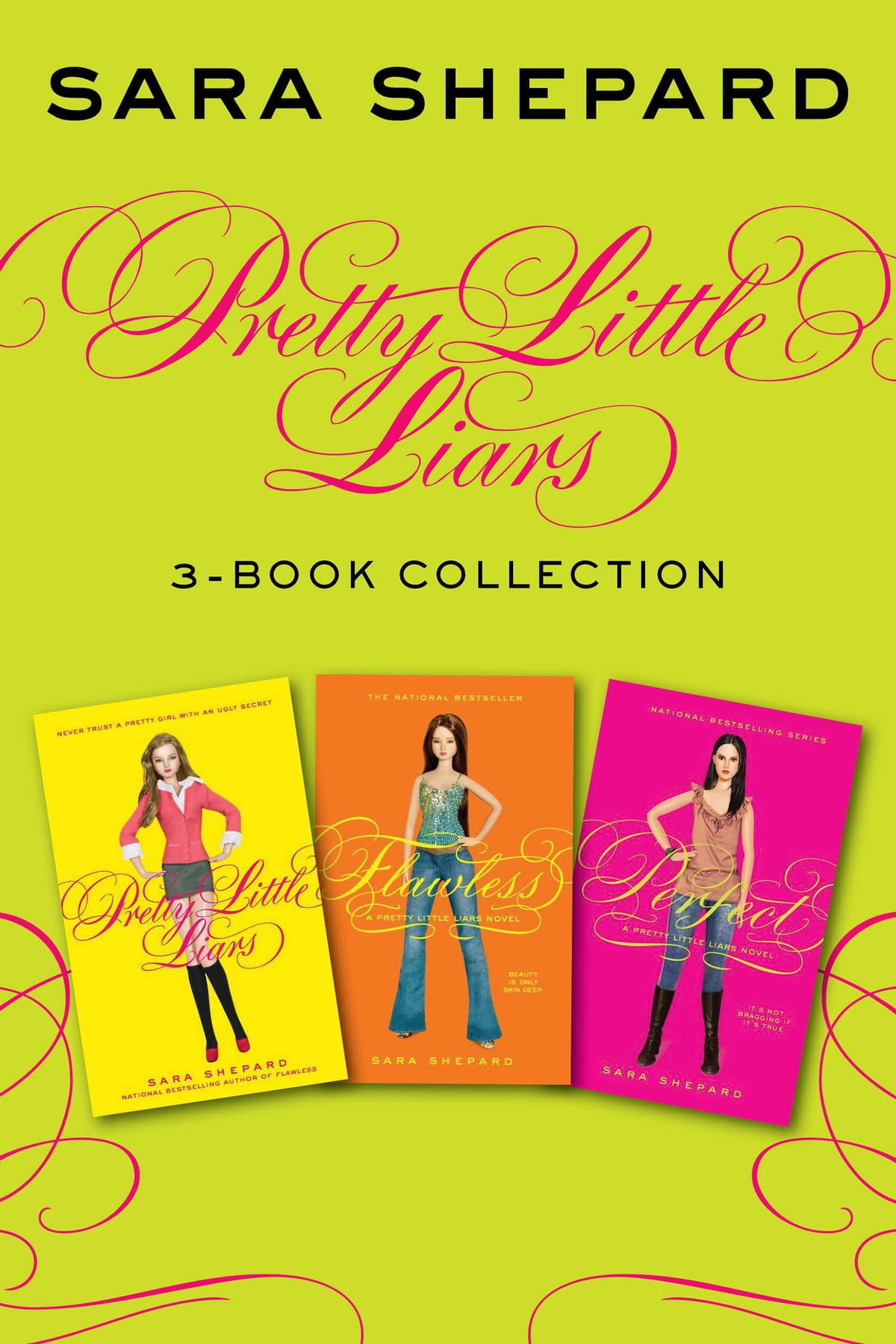 320541167 Pretty Little Liars 3-Book Collection eBook by Sara Shepard - 9780062411884
