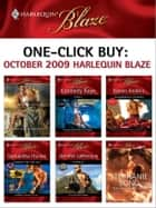 One-Click Buy: October 2009 Harlequin Blaze ebook by Jacquie D'Alessandro,Kimberly Raye,Karen Anders,Samantha Hunter,Jennifer LaBrecque,Stephanie Bond