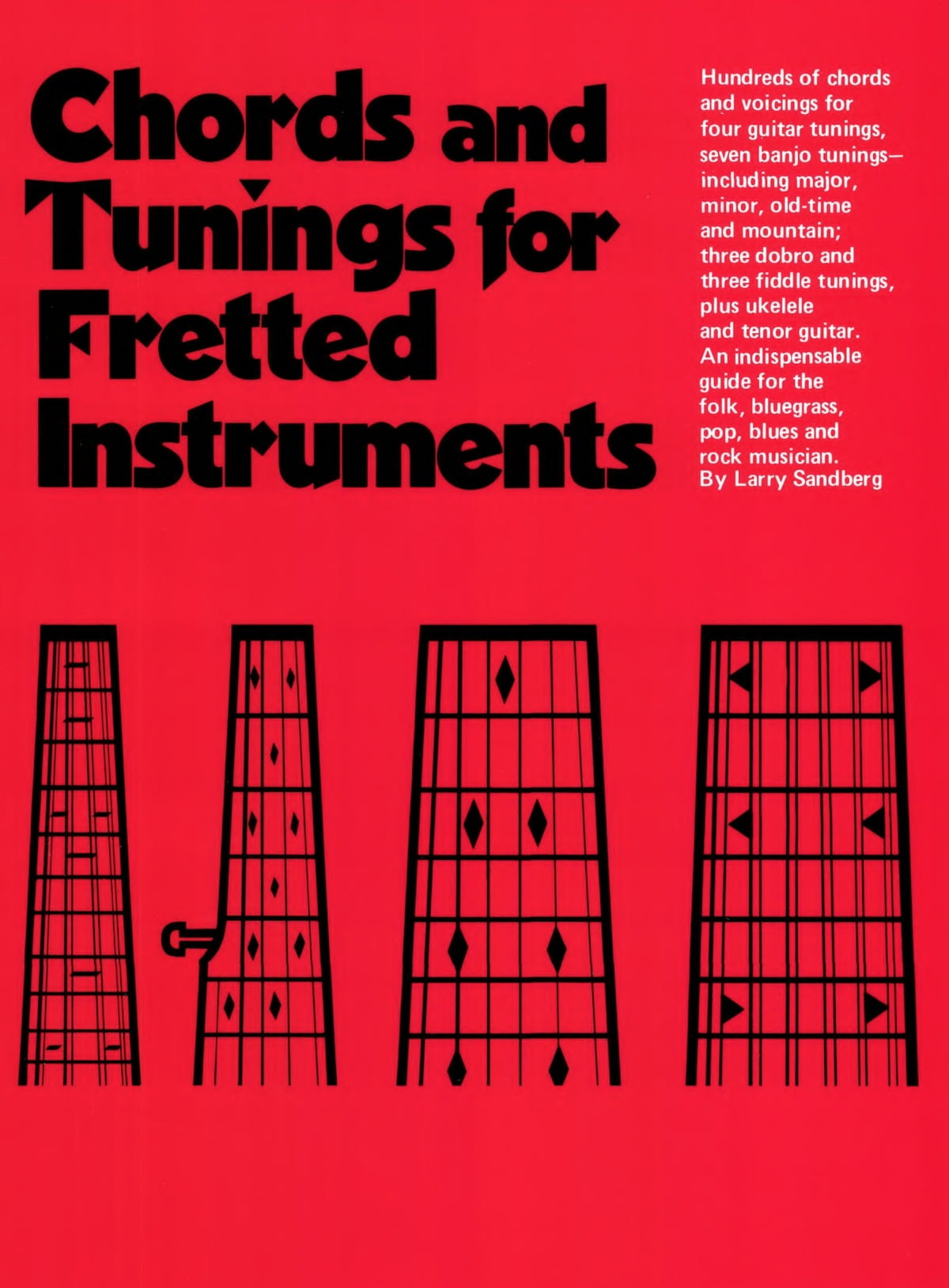 Chords Tuning For Fretted Instruments Ebook By Larry Sandberg