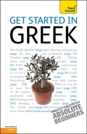 Get Started in Beginner's Greek: Teach Yourself ebook by Aristarhos Matsukas