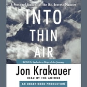 Into Thin Air - A Personal Account of the Mt. Everest Disaster audiobook by Jon Krakauer