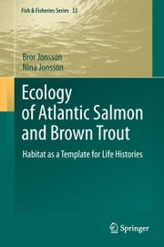 Ecology of Atlantic Salmon and Brown Trout - Habitat as a template for life histories ebook by Bror Jonsson,Nina Jonsson