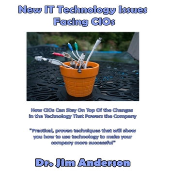 New IT Technology Issues Facing CIOs - How CIOs Can Stay On Top of the Changes in the Technology That Powers the Company audiobook by Dr. Jim Anderson