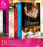 Regency Christmas Collection (Mills & Boon e-Book Collections) ebook by Christine Merrill, Marguerite Kaye, Annie Burrows,...
