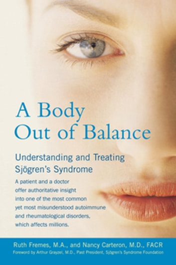A Body Out of Balance ebook by Nancy Carteron,Ruth Fremes