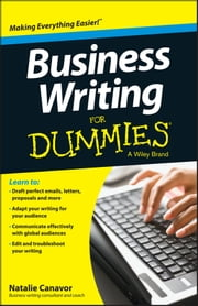 Business Writing For Dummies ebook by Natalie Canavor