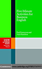 Five-Minute Activities for Business English ebook by Emmerson, Paul