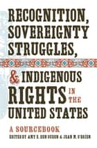 Recognition, Sovereignty Struggles, and Indigenous Rights in the United States ebook by Amy E. Den Ouden,Jean M. O'Brien