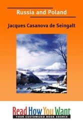 Russia And Poland ebook by de Seingalt Jacques Casanova
