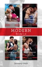Modern Box Set 1-4 Jan 2021/Breaking the Playboy's Rules/Chosen for His Desert Throne/The King's Bride by Arrangement/The Cost of Claiming His ebook by Caitlin Crews, Melanie Milburne, Annie West,...
