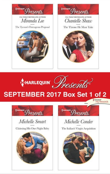 Harlequin Presents September 2017 - Box Set 1 of 2 - An Anthology ebook by Miranda Lee,Michelle Smart,Chantelle Shaw,Michelle Conder