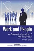 Work and People ebook by Henri Savall