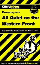 CliffsNotes on Remarque's All Quiet on the Western Front ebook by Susan Van Kirk