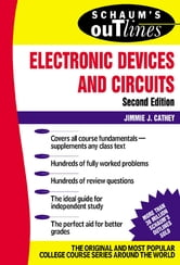 Schaum's Outline of Electronic Devices and Circuits, Second Edition ebook by Jimmie Cathey