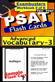 PSAT Test Prep Advanced Vocabulary 3 Review--Exambusters Flash Cards--Workbook 3 of 6 - PSAT Exam Study Guide ebook by PSAT Exambusters