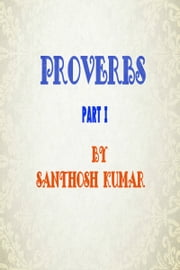 Proverbs ebook by Santhosh Kumar