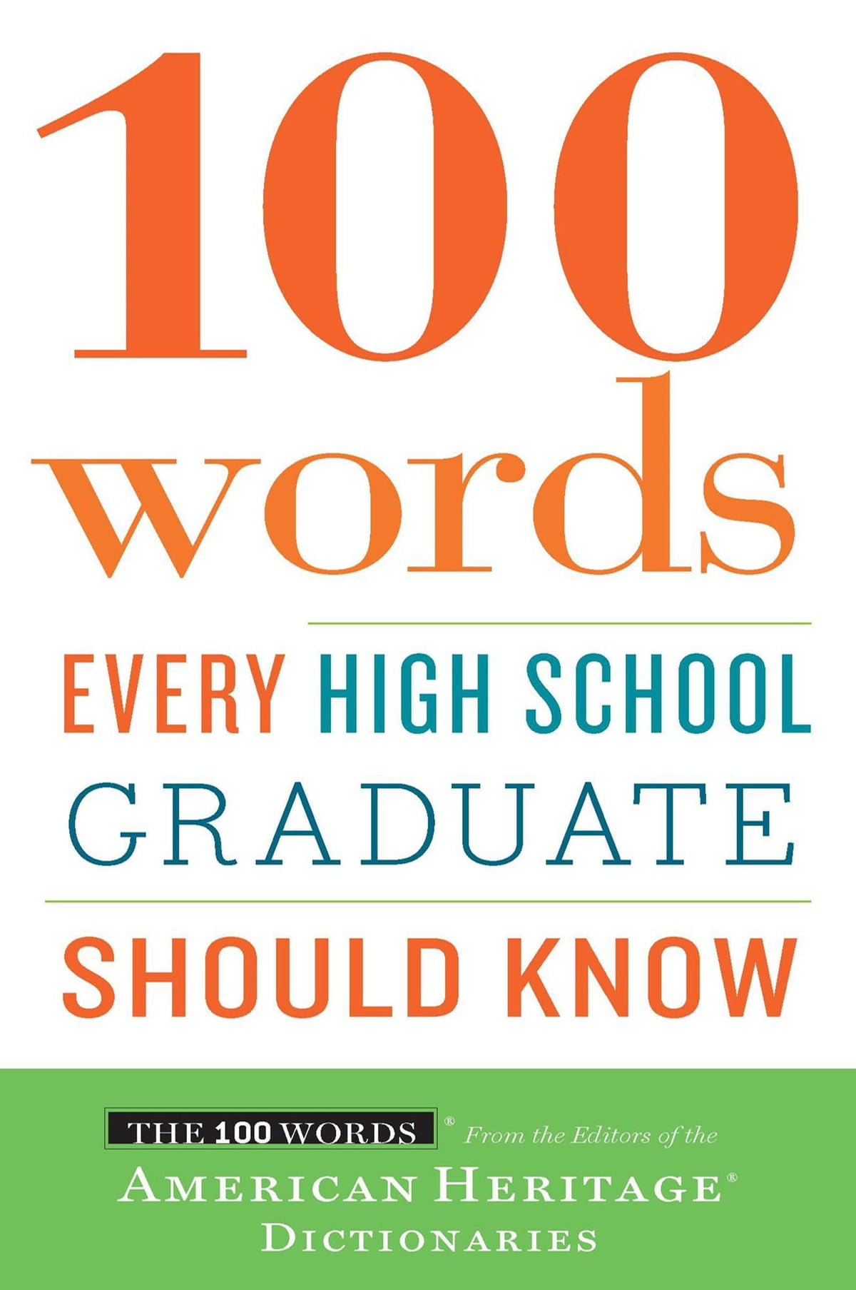 100 Words Every High School Graduate Should Know eBook by - 9780547350233 |  Rakuten Kobo