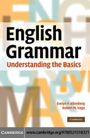 English Grammar ebook by Altenberg, Evelyn P.