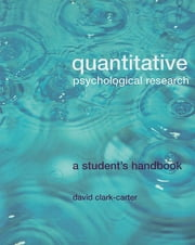 Quantitative Psychological Research ebook by Clark-Carter, David