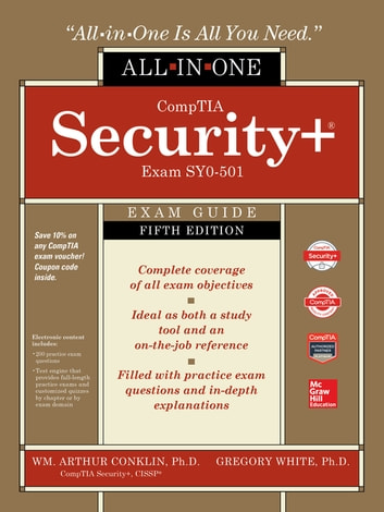 Comptia security all in one exam guide fifth edition exam sy0 501 comptia security all in one exam guide fifth edition exam sy0 501 ebook by wm arthur conklin 9781260019292 rakuten kobo fandeluxe Gallery