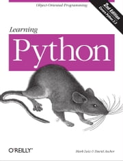 Learning Python ebook by Mark Lutz,David Ascher