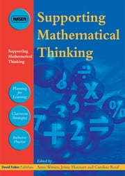 Supporting Mathematical Thinking ebook by Anne Watson,Jenny Houssart,Caroline Roaf