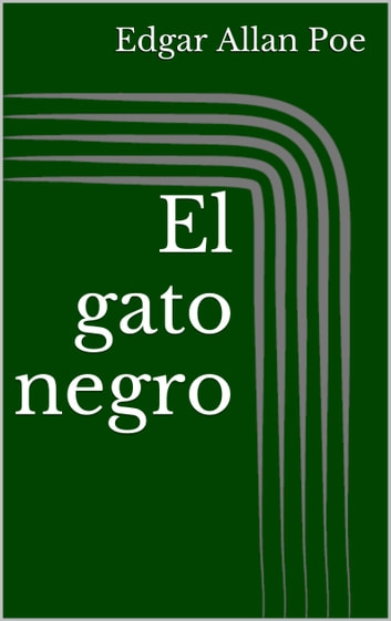 El gato negro ebook by Edgar Allan Poe