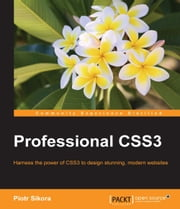 Professional CSS3 ebook by Piotr Sikora