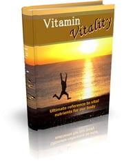 Vitamin Vitality ebook by Anonymous