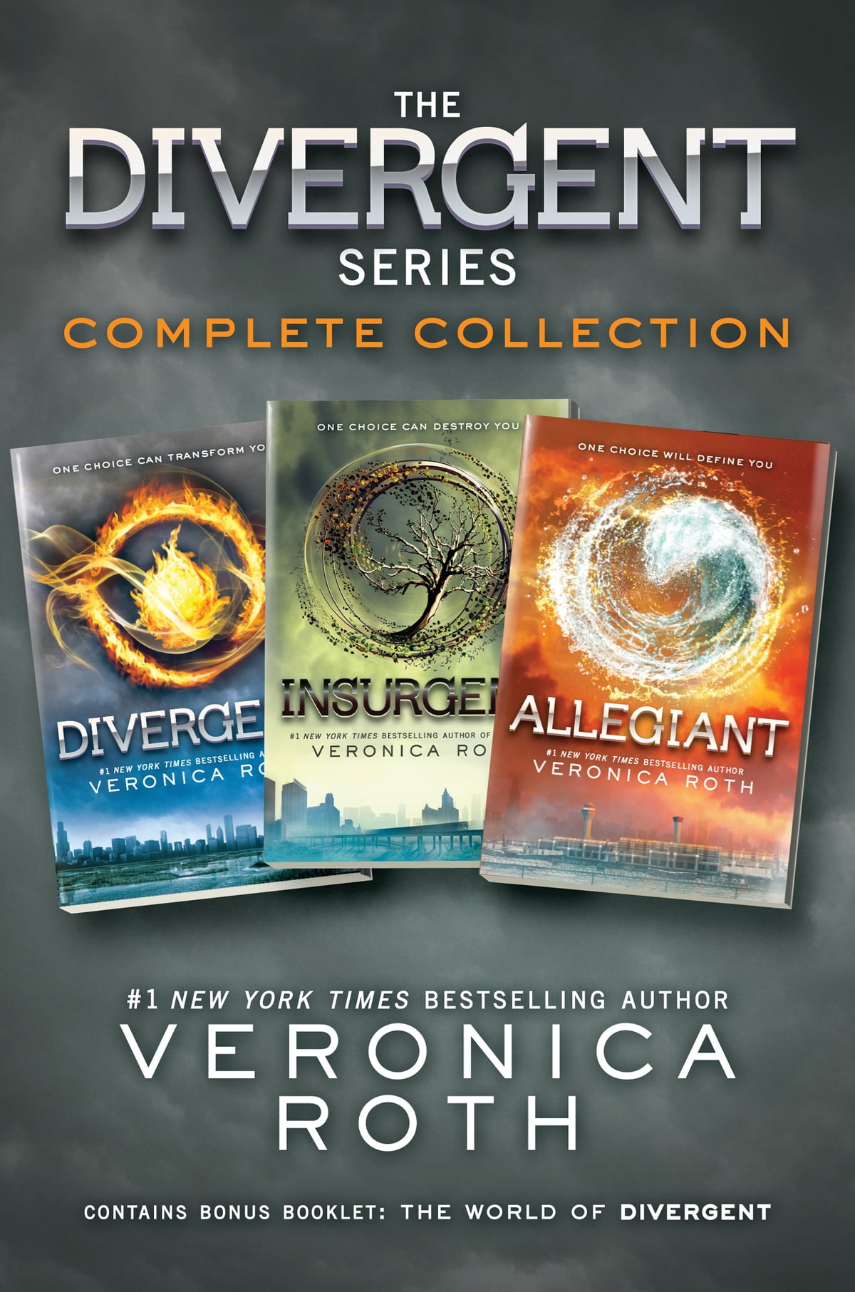 The Divergent Seriesplete Collection  Divergent, Insurgent, Allegiant  Ebook By Veronica Roth