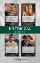 Historical Box Set 1-4 Jan 2020/The Inconvenient Elmswood Marriage/His Countess for a Week/The Secrets of Lord Lynford/Mr Fairclough's Inherit ebook by Marguerite Kaye, Sarah Mallory, Bronwyn Scott,...