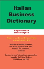 Italian Business Dictionary ebook by Morry Sofer