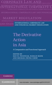 The Derivative Action in Asia - A Comparative and Functional Approach ebook by Dr Dan W. Puchniak,Professor Harald Baum,Dr Michael Ewing-Chow