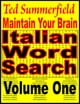 Maintain Your Brain Italian Word Search Puzzles Volume 1 ebook by Ted Summerfield