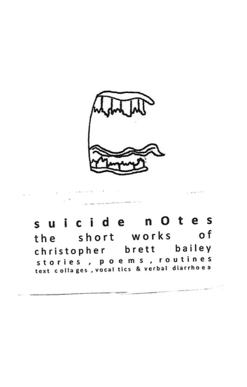 Personalized Screen To Id Suicidal >> Suicide Notes