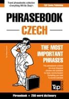 English-Czech phrasebook and 250-word mini dictionary ebook by Andrey Taranov