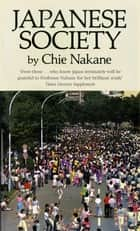 Japanese Society ebook by Chie Nakane