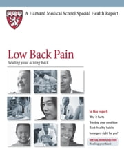 Low Back Pain - Healing your aching back ebook by Jeffrey N. Katz, MD