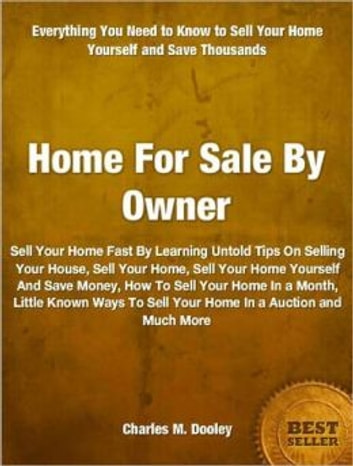 Home For Sale By Owner Ebook By Charles M Dooley