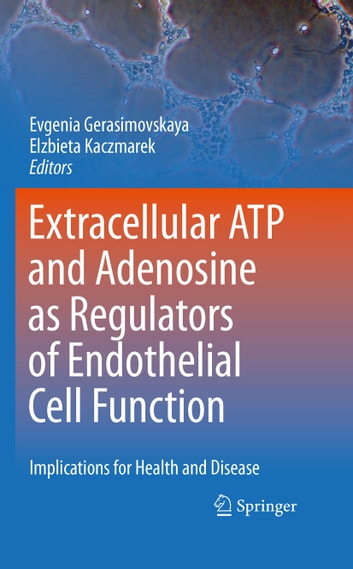 Extracellular ATP and adenosine as regulators of endothelial cell function - Implications for health and disease ebook by