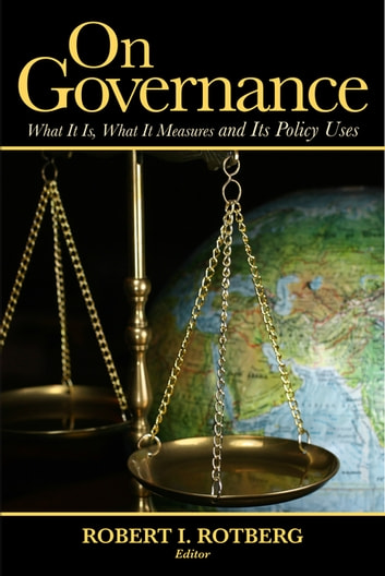 On Governance - What It Is, What It Means and Its Policy Uses ebook by