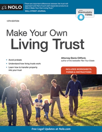 Make Your Own Living Trust ebook by Denis Clifford Attorney