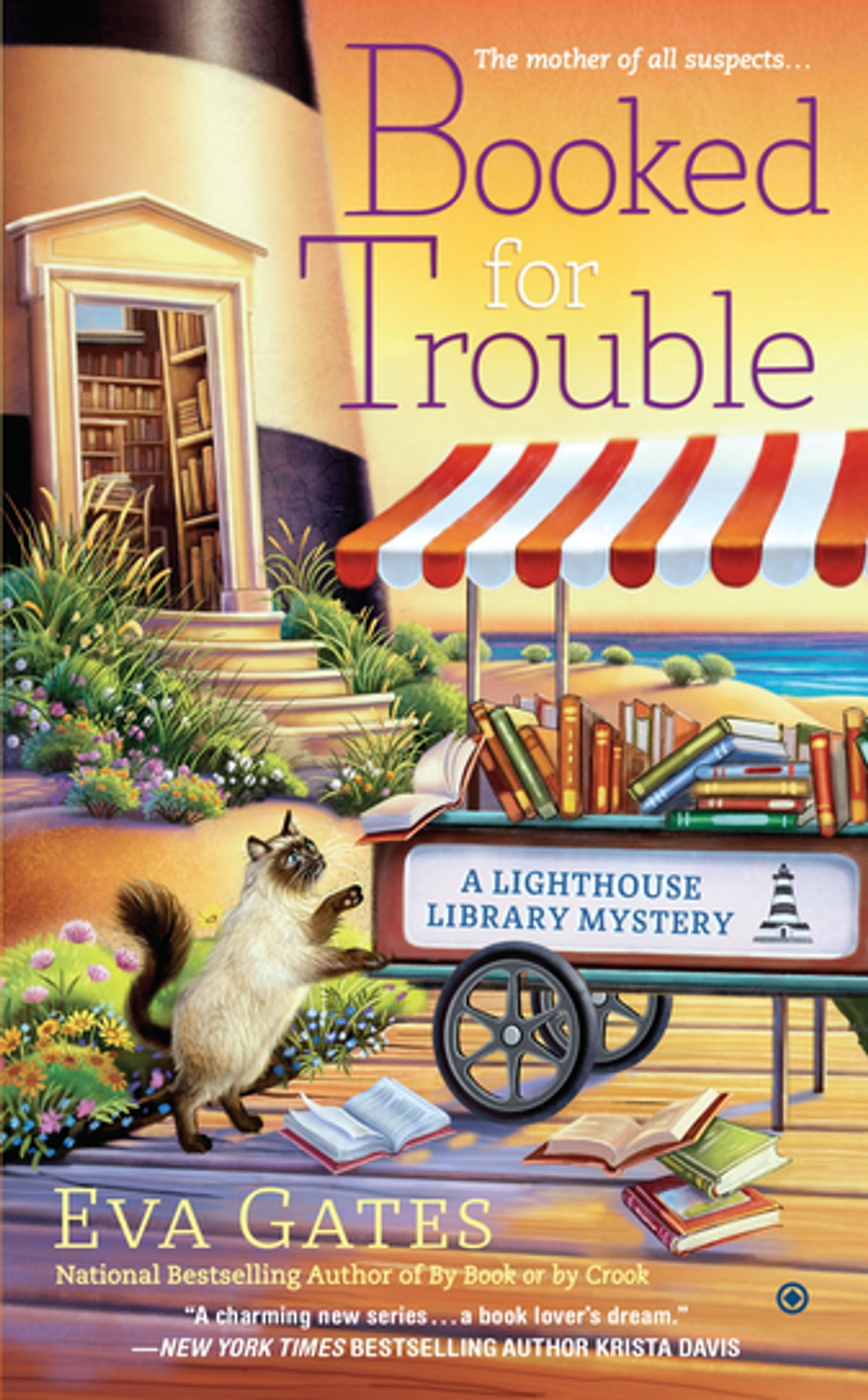 Booked For Trouble  A Lighthouse Library Mystery Ebook By Eva Gates