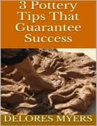 3 Pottery Tips That Guarantee Success ebook by Delores Myers