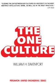 The One Culture ebook by Davenport, William H.