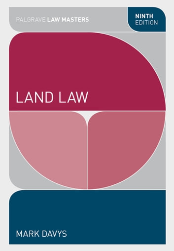 Land Law ebook by Mark Davys