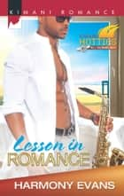 Lesson in Romance ebook by Harmony Evans