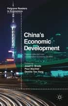 China's Economic Development ebook by J. Brada,P. Wachtel,Peter Buitenhuis,Dennis Yang