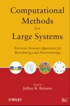 Computational Methods for Large Systems ebook by Jeffrey R. Reimers